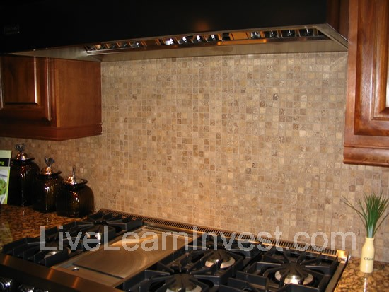 kitchen backsplash mosaic tile Here are some 4 inch  diagonal tiles