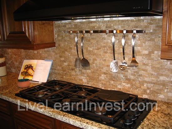 Mini Brick Backsplash Kitchen Brick Like Tile Backsplash