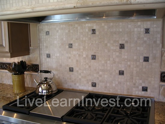 kitchen tile backsplash mosiac